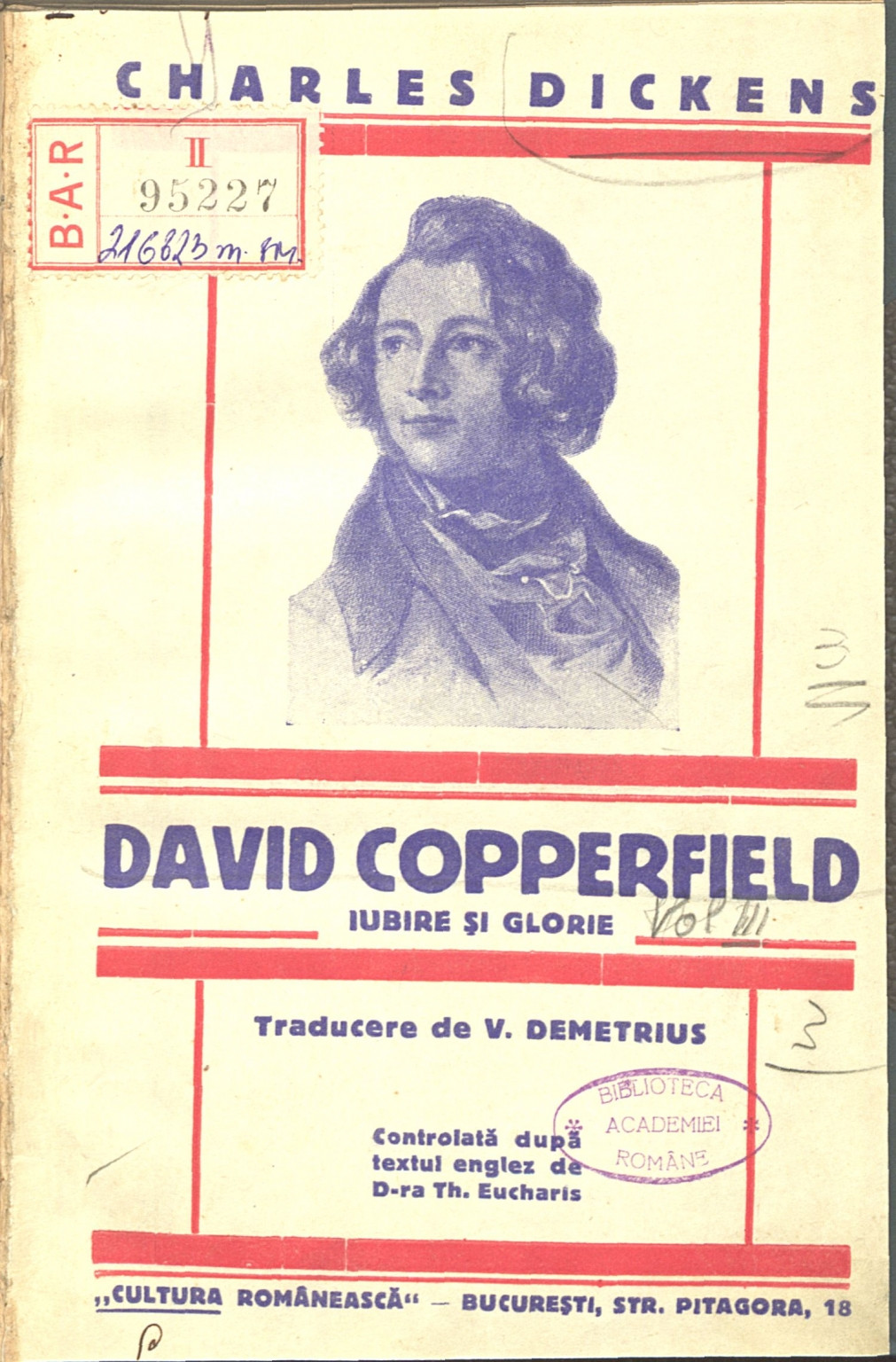 David Copperfield Charles Dickens Vol III